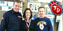 3rd graders, Long Island, elementary, everyday hero